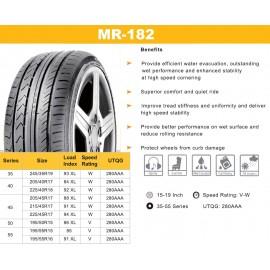 MIRAGE MR-182 225/40 R18